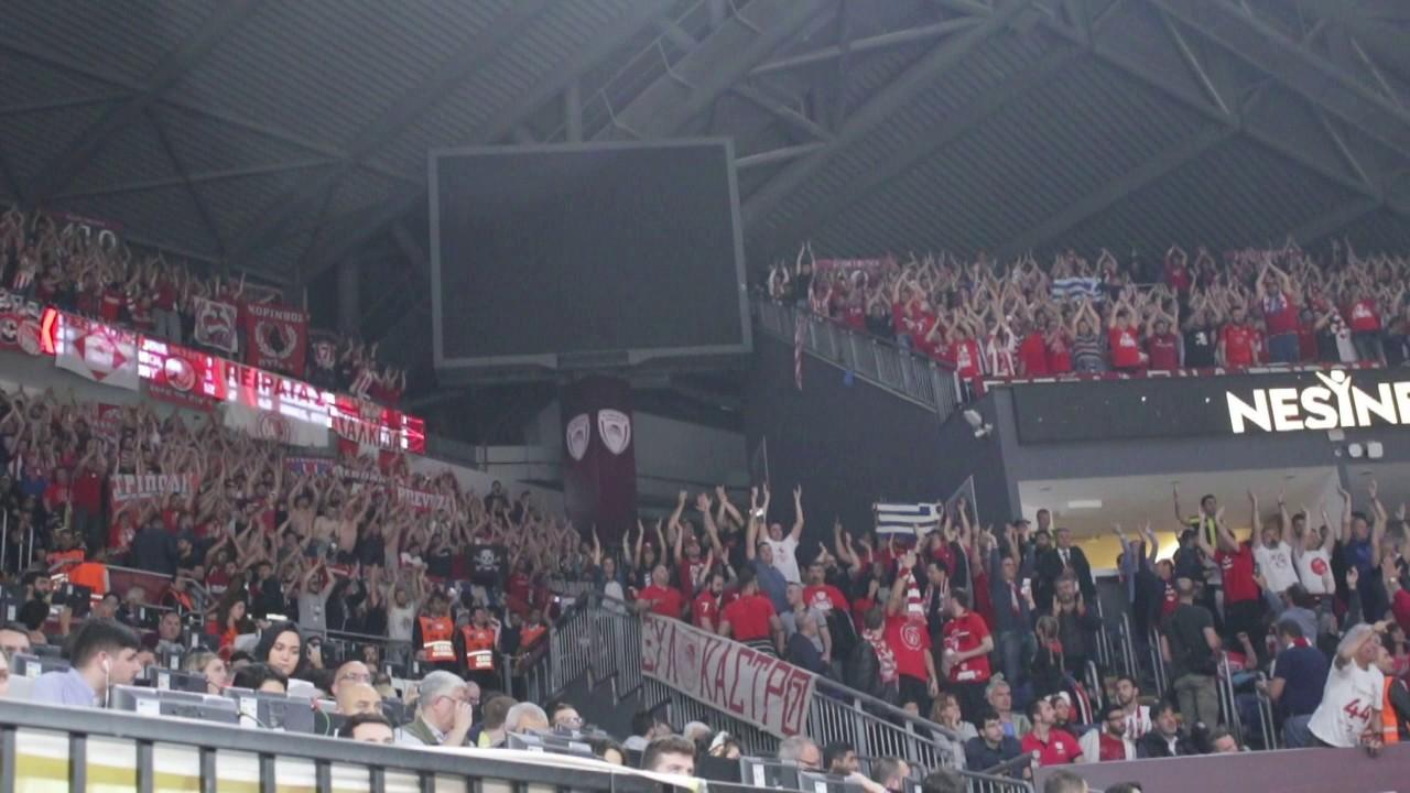 Olympiacos - Fenerbahce fans, Euroleague Final - Εurohoops ...
