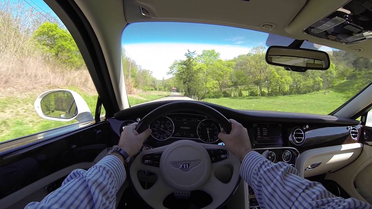 2016 Bentley Mulsanne POV Test Drive