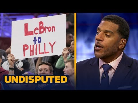Jim Jackson reacts to reports LeBron 'strongly' considered the 76ers | NBA | UNDISPUTED