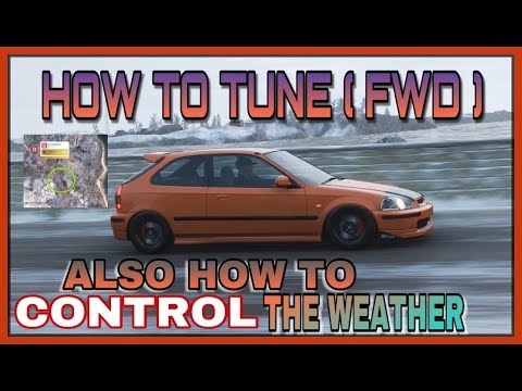 FORZA HORIZON 4 - HOW TO TUNE ( FWD ) - HONDA CIVIC TYPE R