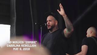 """Bad Wolves """" Zombie"""" Tribute Carolina Rebellion 2018"""