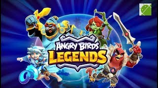 Angry Birds Legends - Android Gameplay FHD