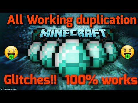 All Working Minecraft Duplication Glitch   Best Working   100% Works!!