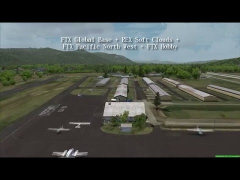 FSX - FTX Texture Comparison at three airports 77S - KEGE - KFHR