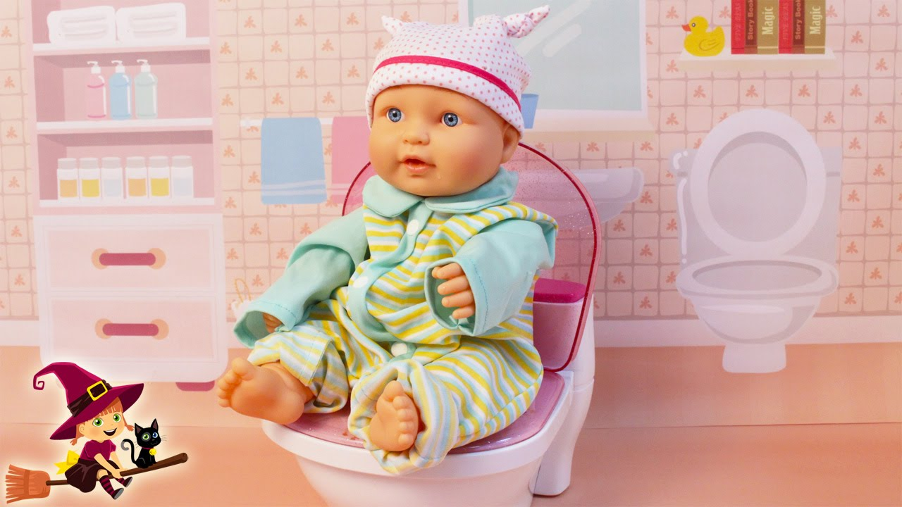La bebe se hace grande le quitamos el pa al viyoutube - Nino 6 anos se hace pis ...