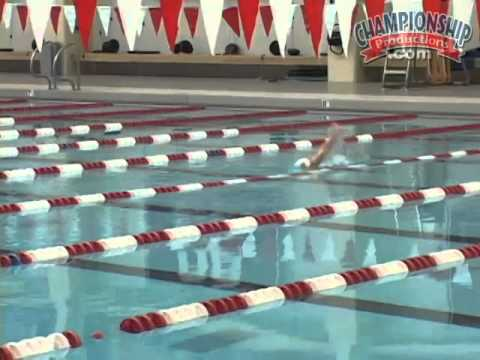 Learn How To Finish Your Backstroke!