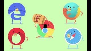 ¿CUAL ES EL MEJOR NAVEGADOR WEB? Chrome vs Firefox vs Opera vs Edge | ENTec