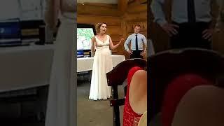 Свадьба 2017!Песня на языке жестов для  мамочки
