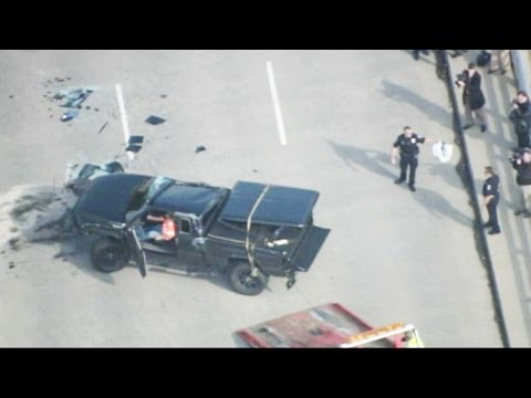 Carolina Panthers Player Cam Newton Home After Truck Accident