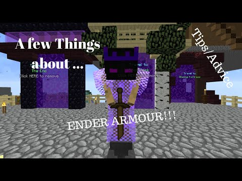 *Minecraft* Hypixel Skyblock! ENDER ARMOUR AND ONESHOT ZEALOTS RANT/TIPS!!!