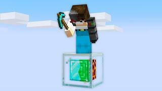 Minecraft, But It's Only 1 Custom Block...