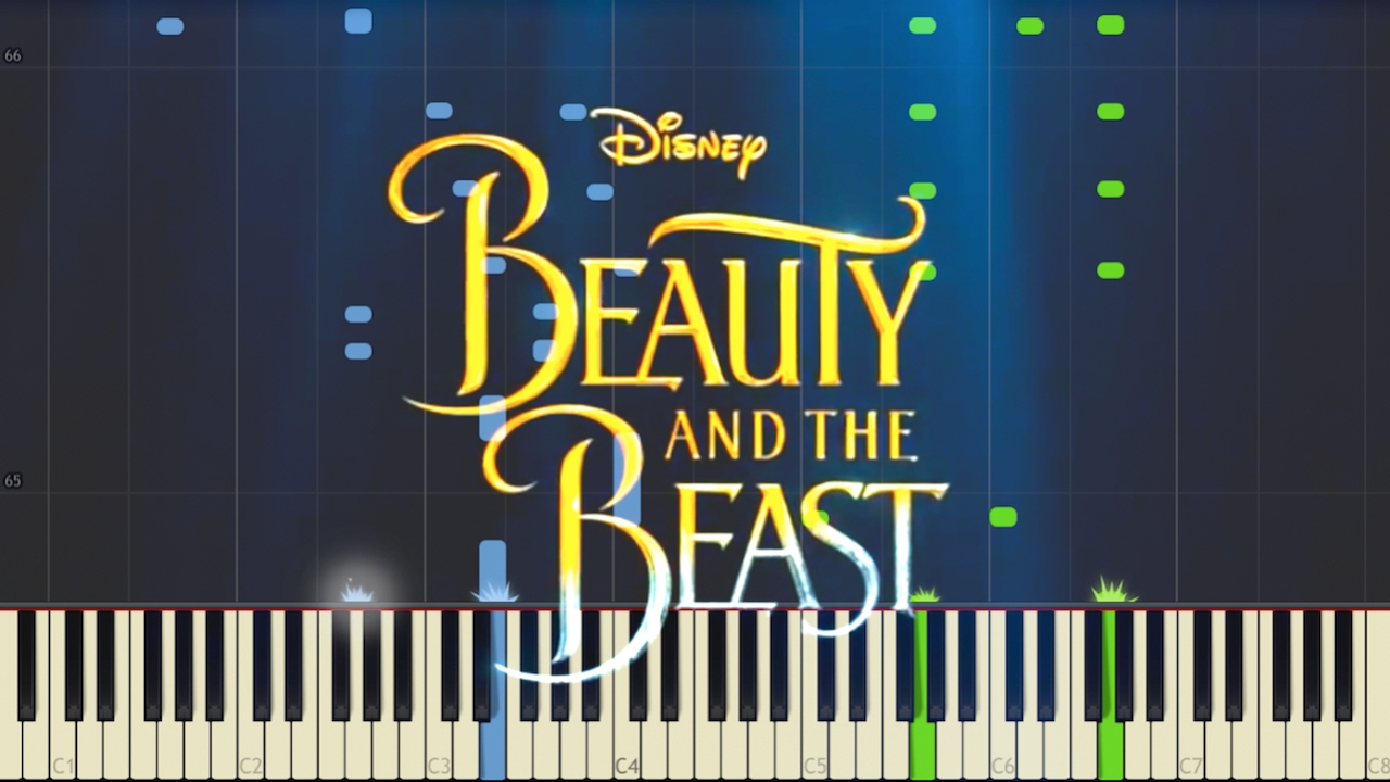 beauty and the beast music piano pdf