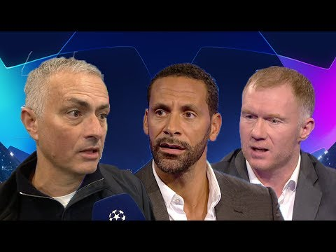 "Rio Ferdinand and Paul Scholes react to Jose Mourinho | ""I don't care about the past!"""