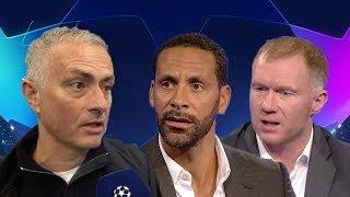 "Rio Ferdinand and Paul Scholes react to Jose Mourinho | ""I don"