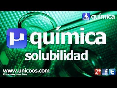 QUIMICA Producto de SOLUBILIDAD 01 BACHILLERATO