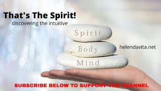 That's The SPIRIT! What do We Really Mean By Spirit?