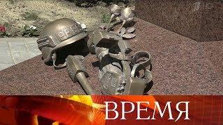 Памятник погибшим журналистам открыли в Луганске.