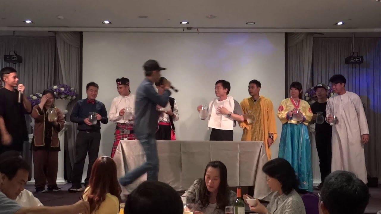 淡江大學運管系 101級謝師宴 - 互動遊戲 - YouTube