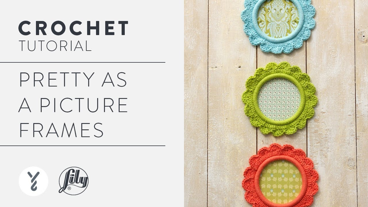How To Crochet A Picture Frame: \