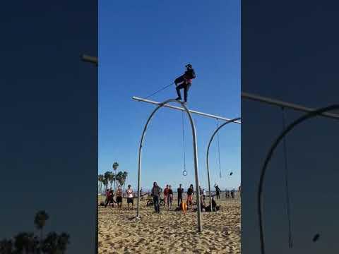 King Swing BLIND - Dévyan DuMon/Radio - Santa Monica California Original Muscle Beach