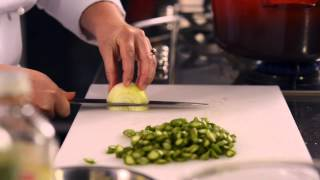 How To Make Asparagus, Lemon & Broad Bean Risotto