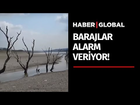 İstanbul'un Barajları Alarm Veriyor! Barajlar Çöle Döndü