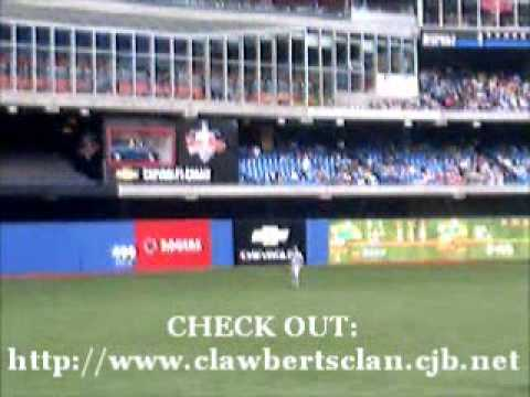 Rogers Centre Video #3 (2005 Blue Jays Baseball Game)