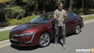 2018 Honda Clarity Plug-In Hybrid Touring Test Drive Video Review