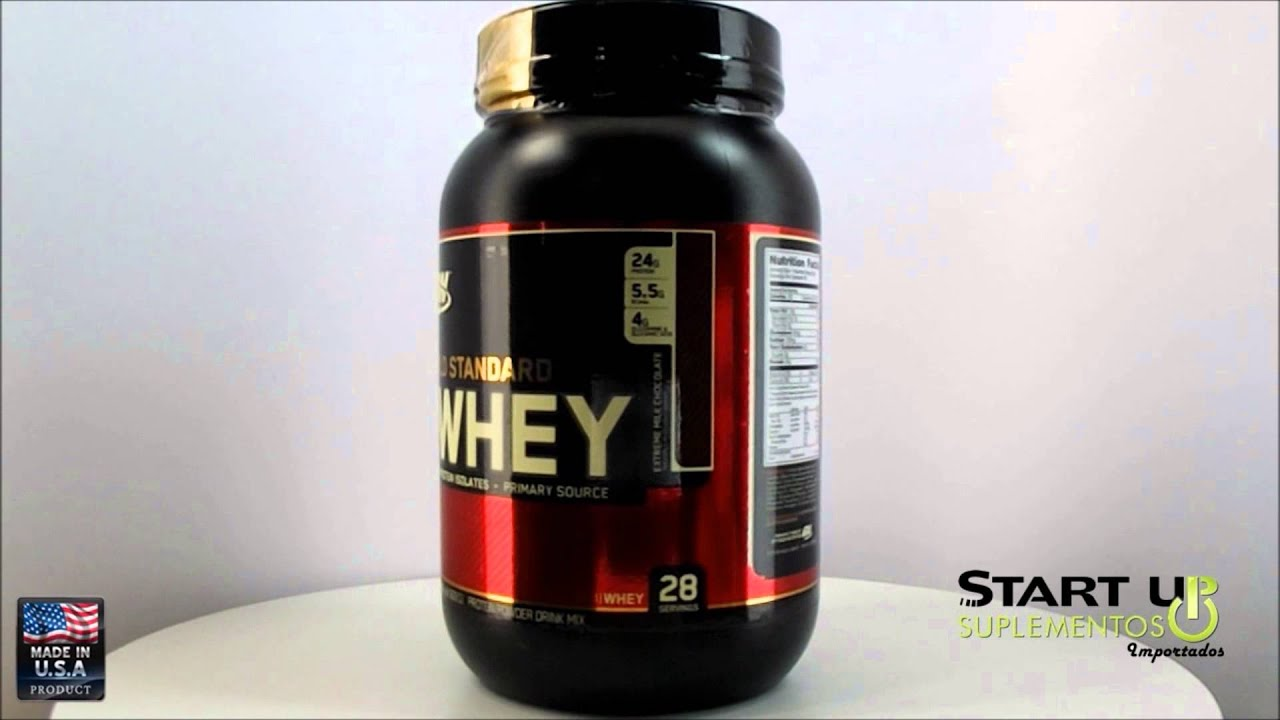 8ac1e4445 Start Up Suplementos (360°) Gold Standard 100% Whey 909g Extreme Milk  Chocolate Optimum Nutrition