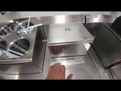 High capacity semi-automatic straw dispenser