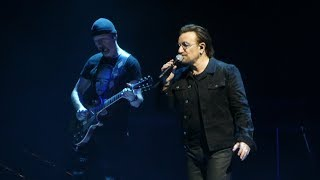 """Bono Says Could Be Awhile Before Band Plays Philly & 13"" U2@Philadelphia 6/14/18"