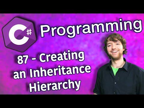 C# Programming Tutorial 87 - Creating an Inheritance Hierarchy thumbnail