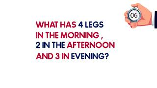 Only 5% CAN ANSWER THESE RIDDLES IN LESS THAN 15 SECONDS?