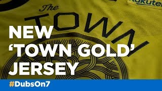 Golden State Warriors unveil new 'Town Gold' jersey