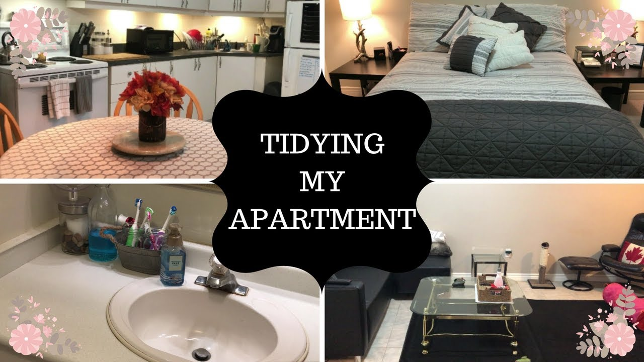 Tidying my Apartment | Motivation to Clean the Apartment | Whole ...