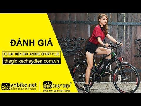 Đánh giá xe đạp điện Bmx Azibike Sport Plus