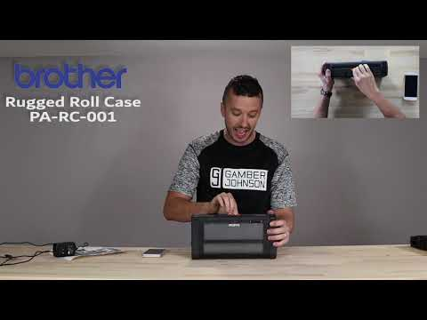 Brother PJ7 Rugged Roll Case