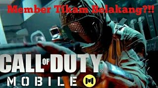 Call Of Duty-Member Tikam Belakang?!!