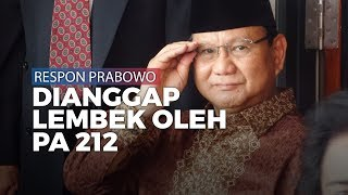 Prabowo Beri Respons atas Pernyataan PA 212 yang Nilai Lembek soal Natuna
