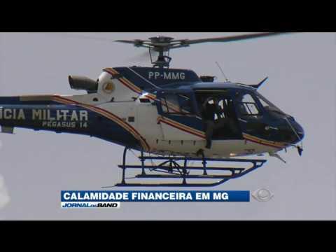 Governador de Minas Gerais decreta calamidade financeira