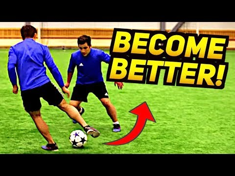 Become A BETTER FOOTBALL PLAYER With This Skill! ★
