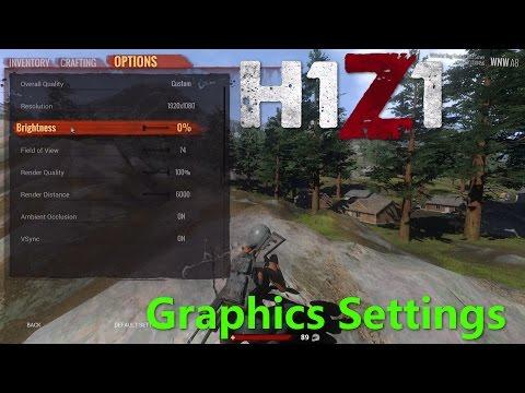 best h1z1 kotk settings