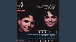 Concierto madrigal for two guitars and orchestra: fandango (molto ritmico) mp3