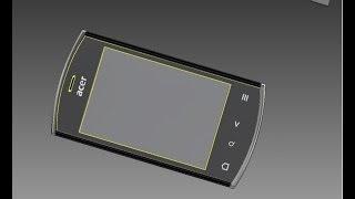Acer Liquid Mini E310 (3D модель)