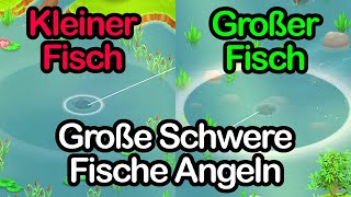 GROßE SCHWERE FISCHE ANGELN 🤑 Hay Day | SyromerB