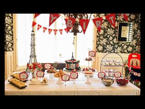 Paris Themed Party Decorating Ideas