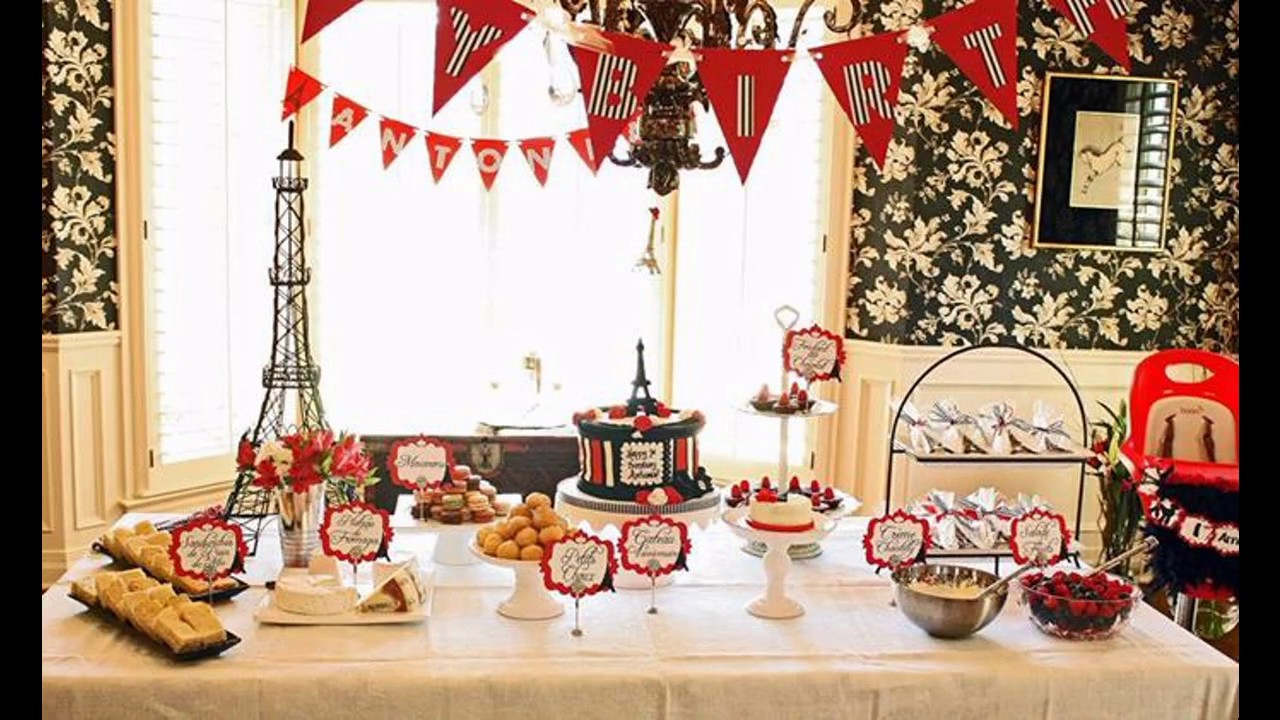 Paris Themed Party Decorating Ideas Part - 28: Paris Themed Party Decorating Ideas