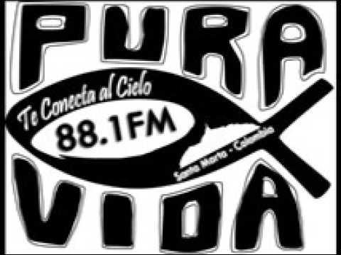 Radio Pura Vida fm Santa Marta Tremendo y Lindo amanecer 04 07 17