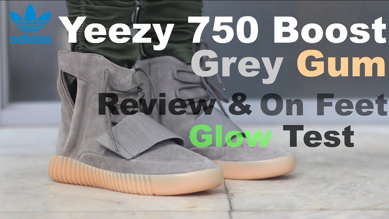 UA Adidas Yeezy 750 Boost Glow In Dark