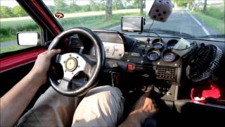 """The Dirty"" Drag beast Fiat Cinquecento Bimoto Turbo 4x4 quarter mile MONSTER Germany"